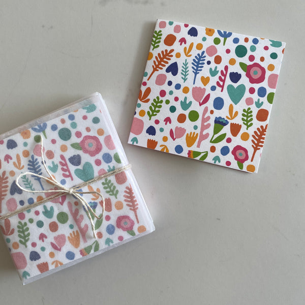 Floral Mini Card Set
