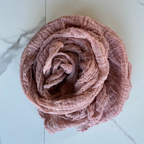 Scarf ~ Pink Clay