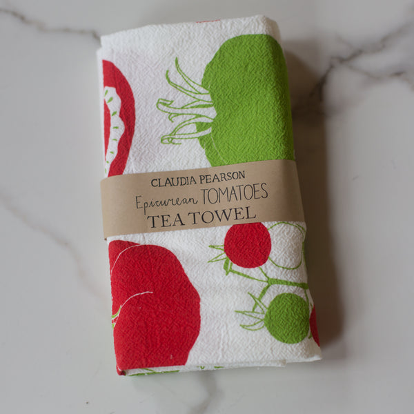 Tea Towel - Tomatoes