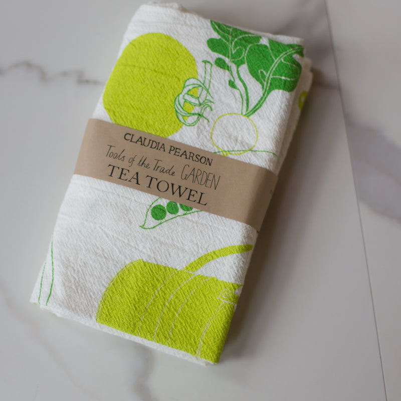 Tea Towel - Garden