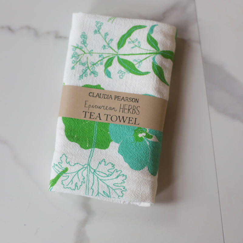 Tea Towel - Herbs