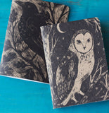 Owl & Crow Journal Set with Art by Phoebe Wahl
