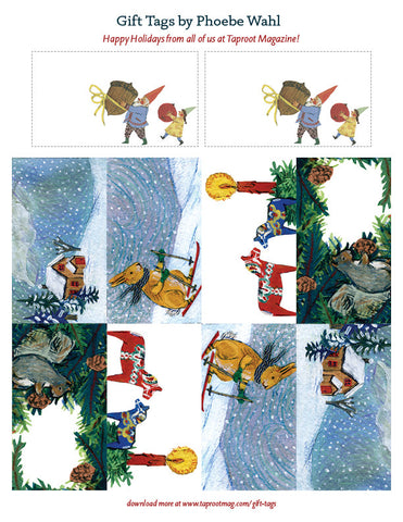 Phoebe Wahl Gift Tags - Holiday 2013