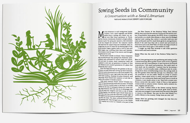 ISSUE 10::SEED