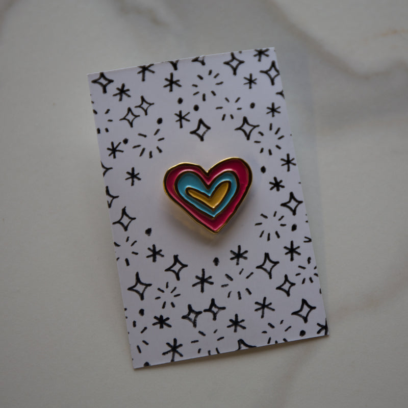 Lapel Pin - Kind Heart