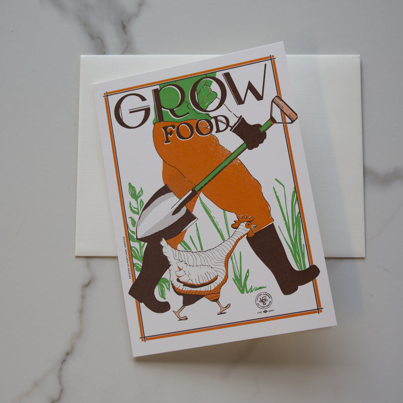 Grow Food Card