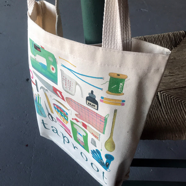 MAKE Taproot Tote Bag