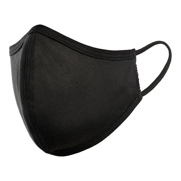 4 Ply Black Adult Civilian Face Mask