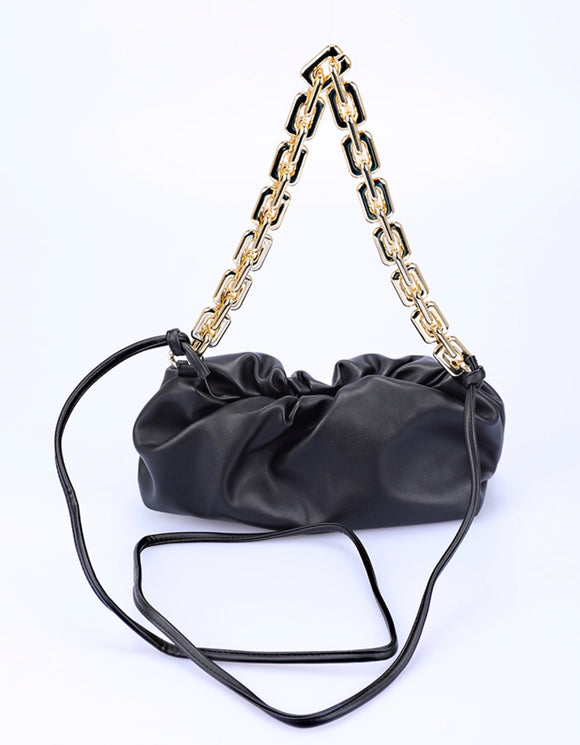 NINA - borsa media catene nero