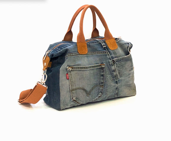 VALENCIA -  borsa in denim