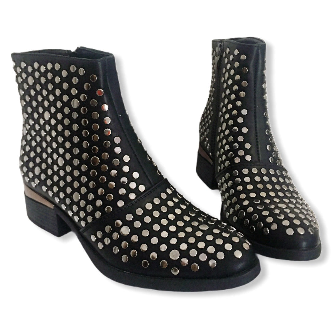 KEROUAC - stivaletti beatles borchie studded