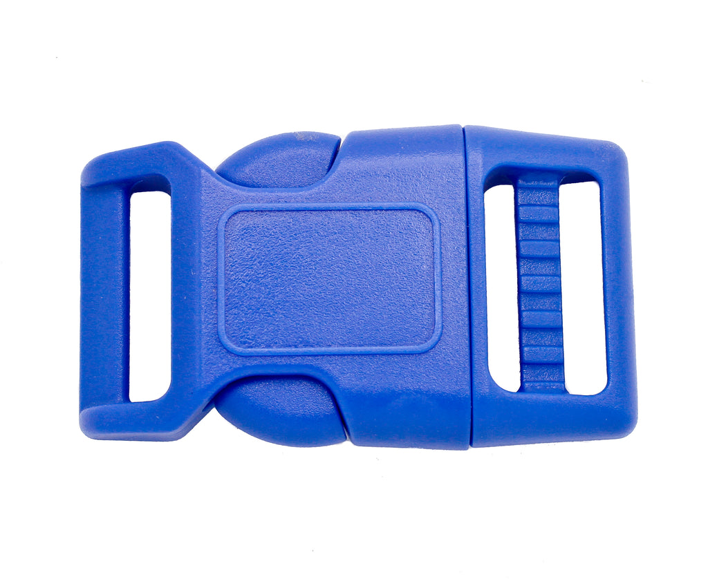 25 1 Contoured Plastic Buckles 1 inch adjustable curved buckles