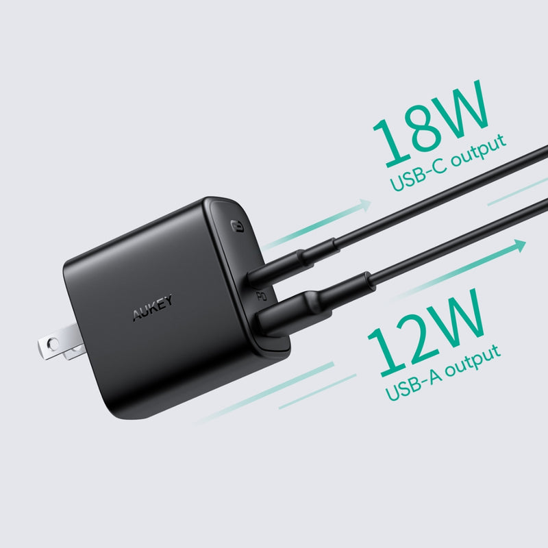 Swift Mix 30W  Dual-Port PD Charger