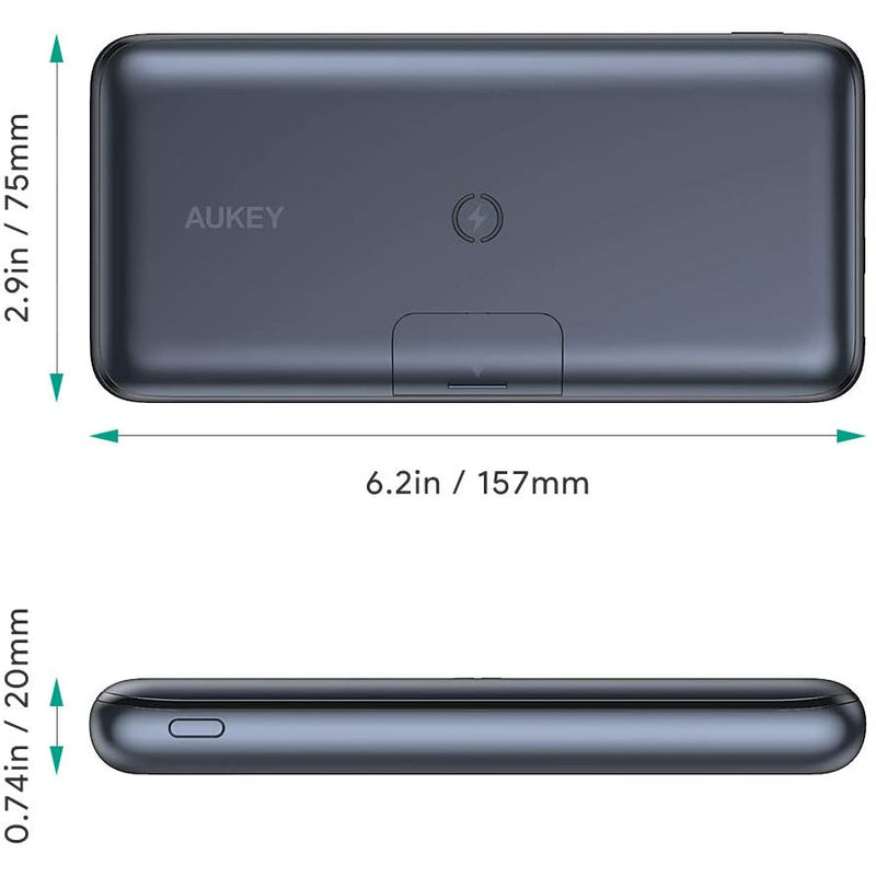 AUKEY Basix Pro 20000mAh Wireless Power Bank
