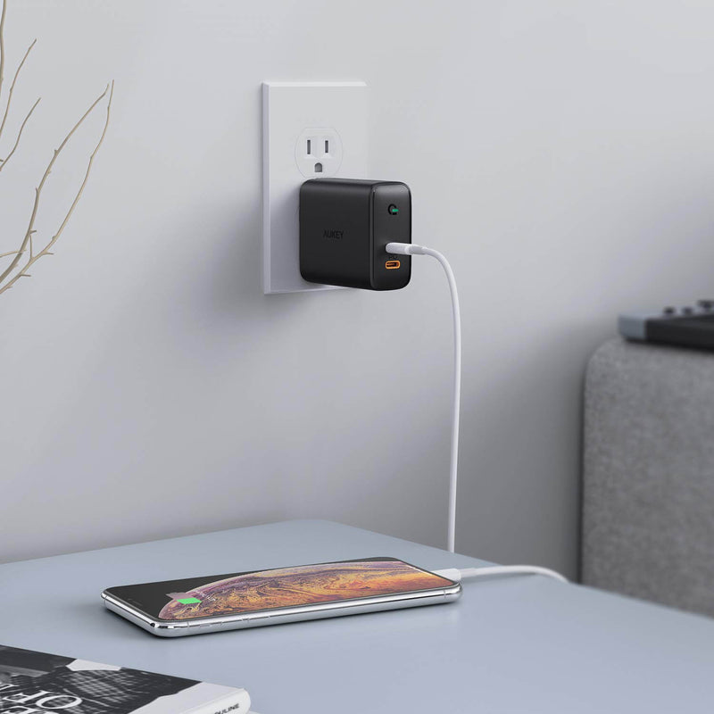 Focus Duo 36W Dual-Port PD Charger with Dynamic Detect