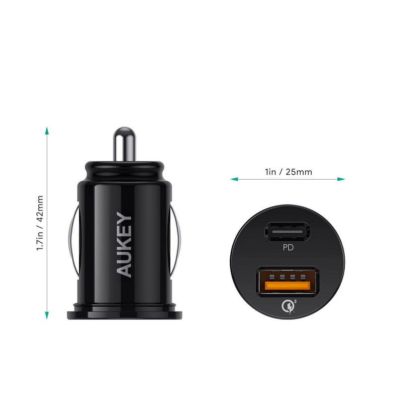 Expedition Duo PD 21W Dual-Port PD Car Charger