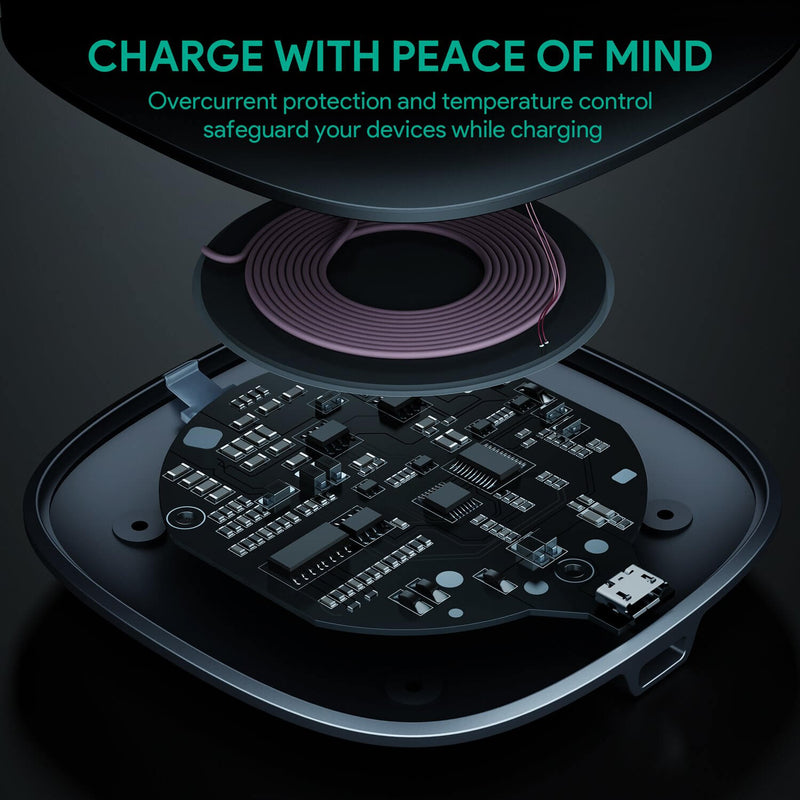 Graphite Q Lite 10W Wireless Charger