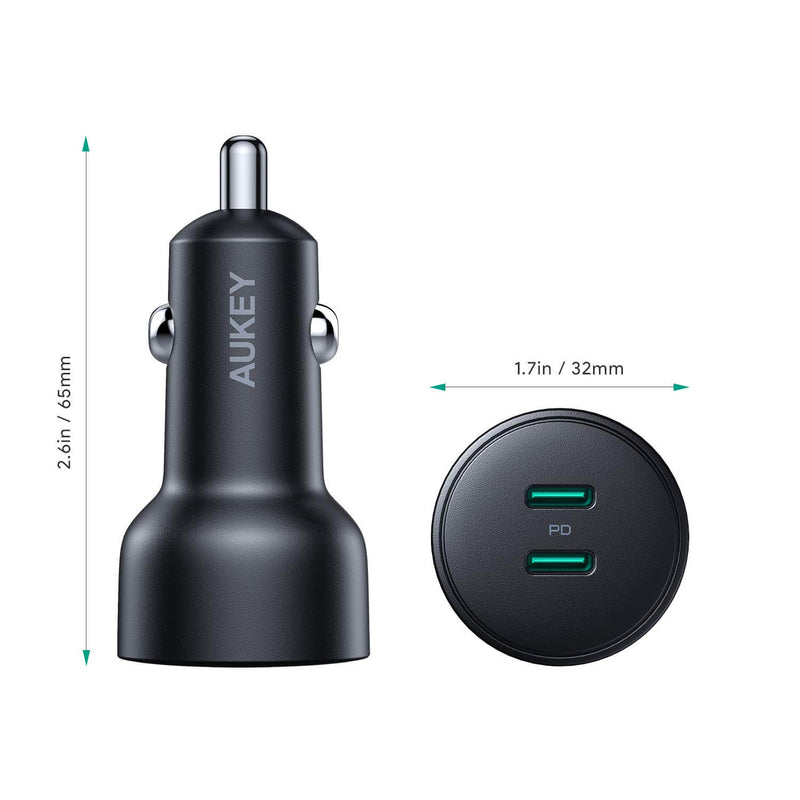 Expedition Duo PD 36W Dual-Port PD Car Charger