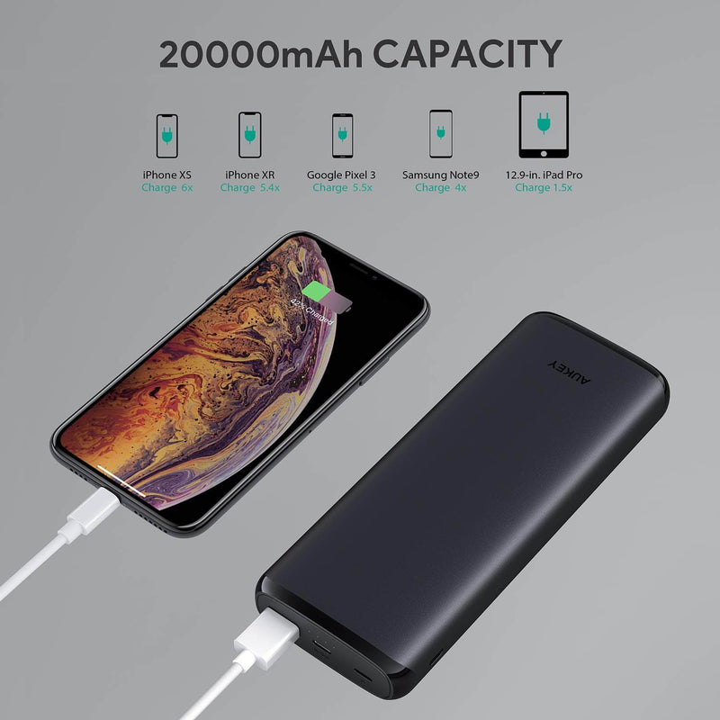 Sprint Go Lightning 20 - 20000mAh Power Bank with 18W Power Delivery & QC 3.0