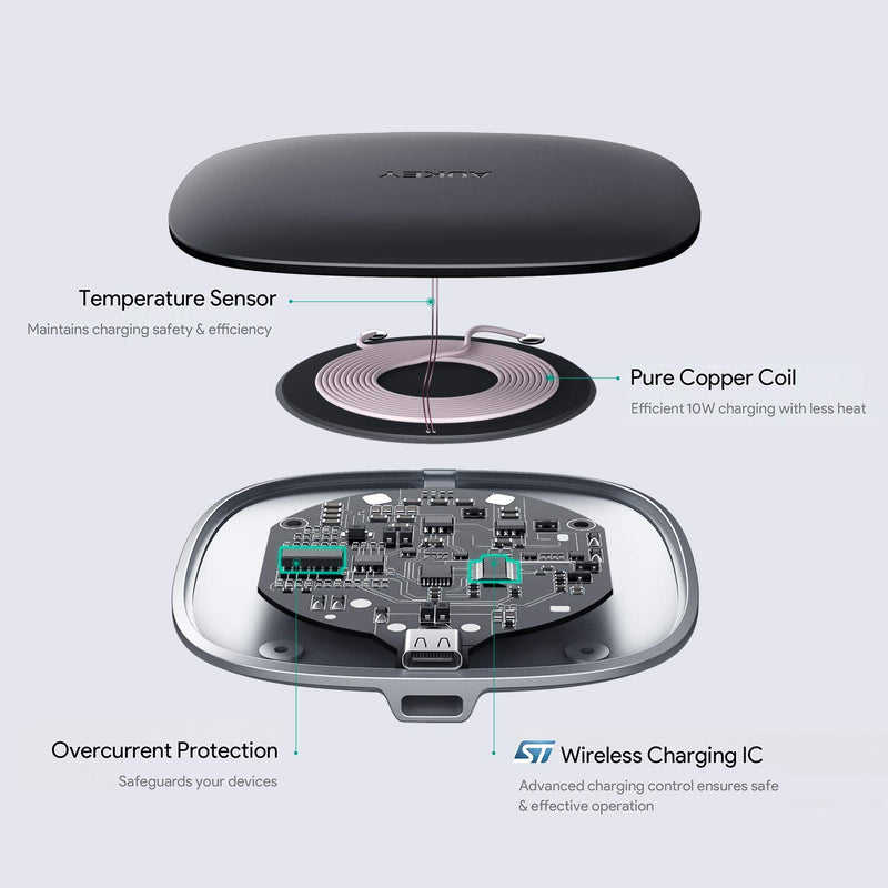 Graphite Q 10W Wireless Fast Charger