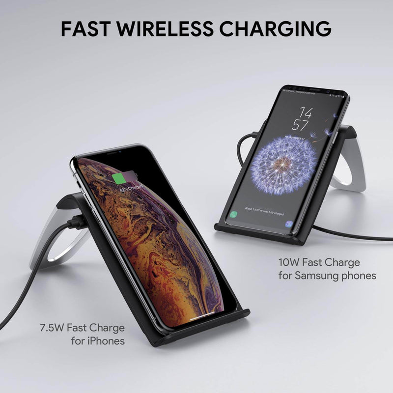 Graphite Stand 10W Wireless Fast Charging Stand
