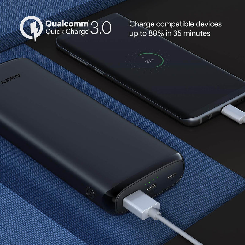 Sprint Go Lightning 20000mAh Power Bank with 18W Power Delivery & QC 3.0