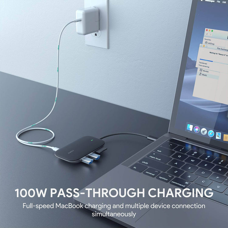 Unity Link PD II 7-in-1 USB-C Hub with 100W PD