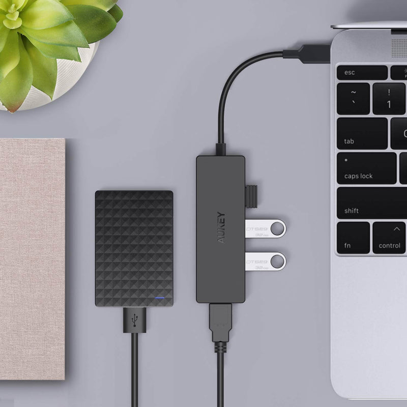 Unity Slim C 4-in-1 4-Port USB 3.0 Type-C Hub