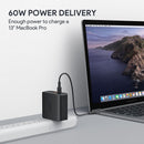 Focus Duo 63W - Dual-Port PD Wall Charger