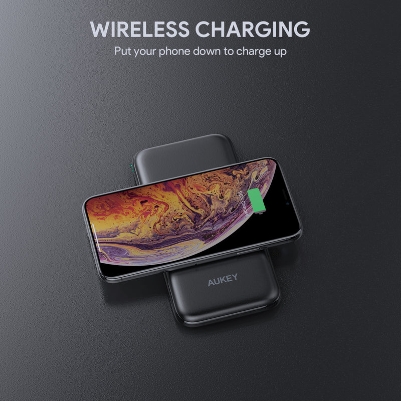 Sprint Wireless 8000mAh - Wireless Charging Power Bank