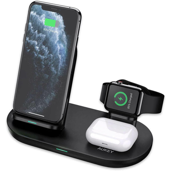 Aircore 3-in-1 Wireless Charging Station Stand