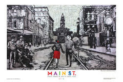 "2015 Commemorative Poster - ""Main Street Stroll"""