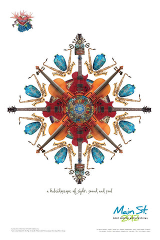 2012 Kaleidoscope Poster - Music Theme
