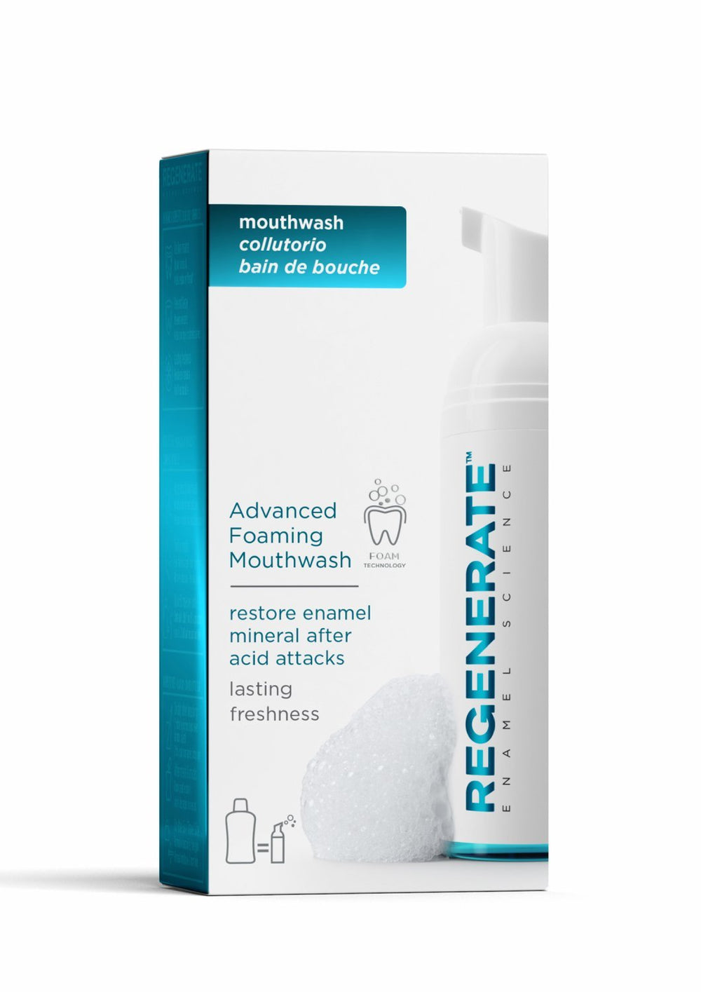 Regenerate Advanced Foaming Mouthwash Pack