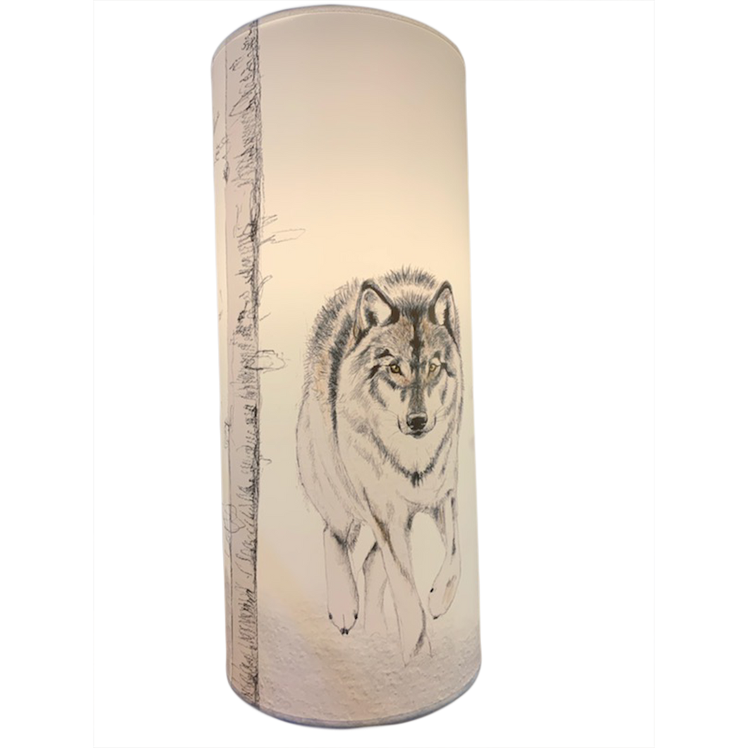Lampe Loup Forêt