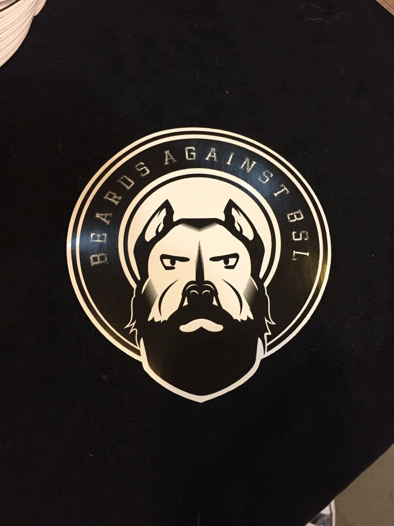 Beards Decal
