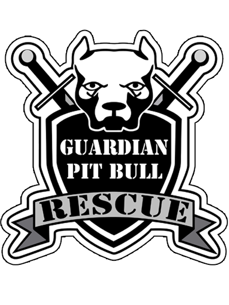 Guardian Pit Bull Rescue Decal