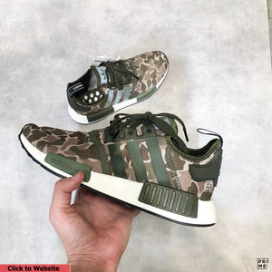 NMD R1 Duck camo Grey