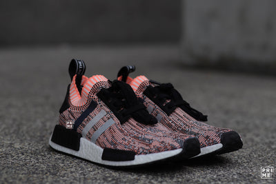 NMD R1  Core Black Clear Onix Sun (Salmon)