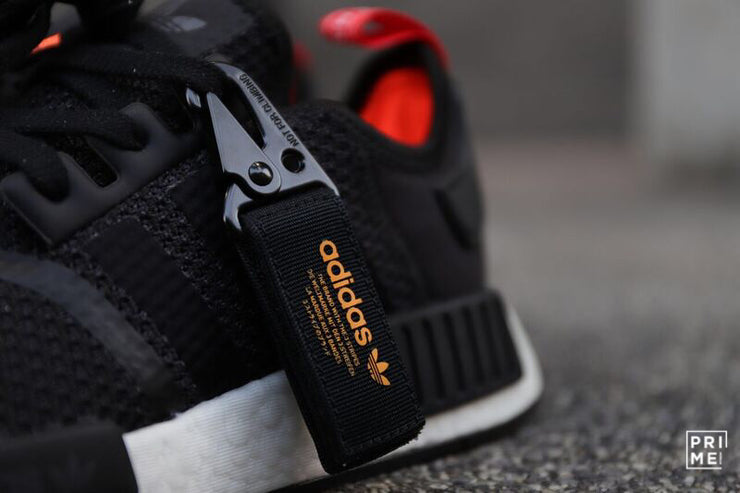 Adidas NMD R1 Core Black Orange (B37621)