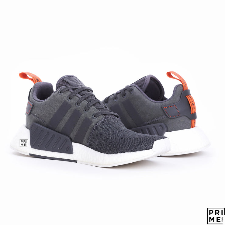 ADIDAS NMD R2 Grey/White (BY3014)