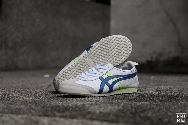 Onitsuka Tiger Mexico66 White/ Mako Blue  (1183a201-107)