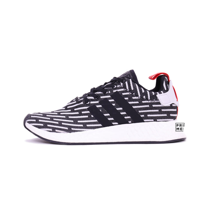 ADIDAS NMD R2 Core Black/Stripe (BB2951)