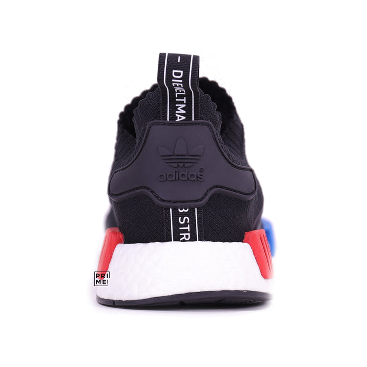 ADIDAS NMD R1 OG Black Blue  Red (S79168)