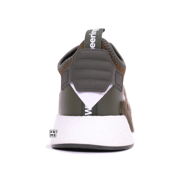 ADIDAS NMD R2 PK White mountaineering olive (CG3649)