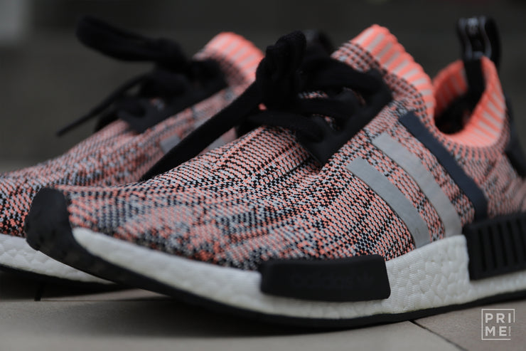 Adidas NMD R1 Salmon Core Black Clear Onix Sun ( BB2361 )