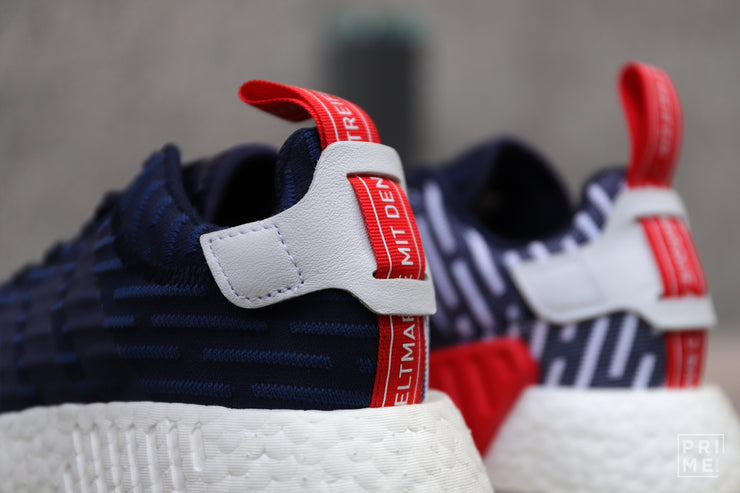 ADIDAS NMD R2 Collegiate Navy/White (BB2952)