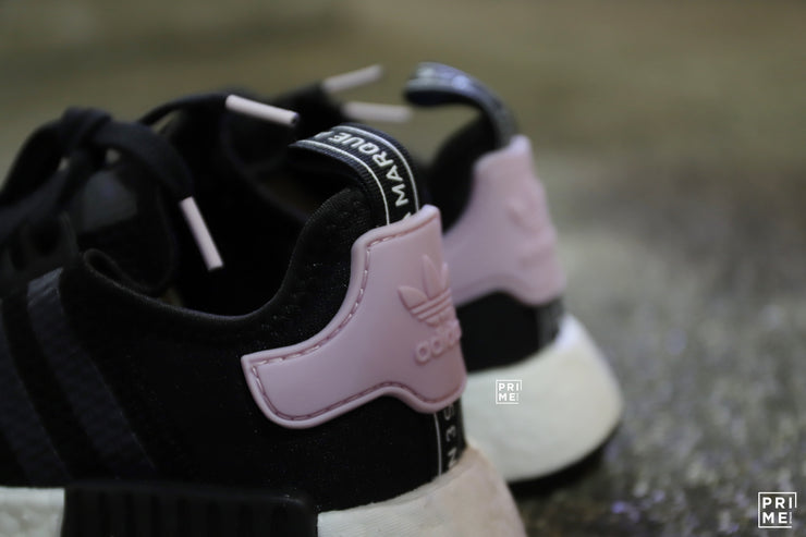 Adidas NMD R1 Core Black / Footwear White / Clear Pink (B37649)