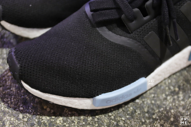 58473f4bf Adidas NMD R1 Core Black   Core Black   Icey Blue (BY9951) – Prime