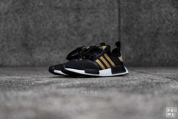 NMD R1 Core Black Gold metalic grey (FZ0264)
